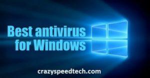 Best Antivirus For Windows 10/8.1 PC Download free